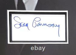 SEAN CONNERY Signed 14x10 Photo Display JAMES BOND GOLDFINGER & DR NO COA