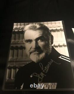 SEAN CONNERY The Hunt For Red October Signed Auto PHOTO 8x10 JSA LOA JAMES BOND