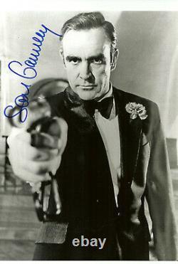 SEAN CONNERY original Autogramm 20x30 Großfoto Top Portrait James Bond 007