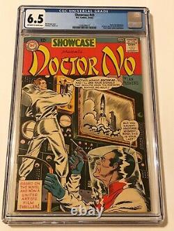 SHOWCASE 43, CGC 6.5, JAMES BOND Movie DOCTOR NO with SEAN CONNERY! DC 1st Adapt