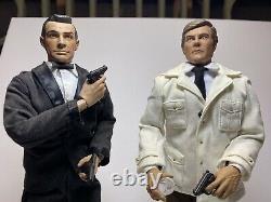 SIDESHOW Agent 007 James Bond Dr. No Golden Gun Sean Connery 12 Two Figure set