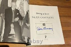 SIGNED Sean Connery Being A Scot Book. New Never Been Read. James Bond