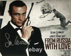 Sean Connery 007 James Bond Original Autograph Hand Signed with COA