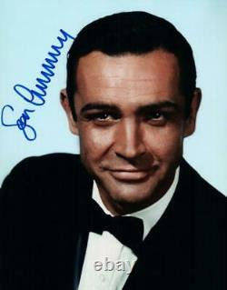 Sean Connery 007 James Bond autographed 8x10 Photo signed Picture Very Nice COA