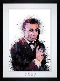 Sean Connery 007 With Love James Bond picture by Daniel Mernagh framed