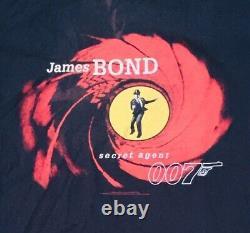 Sean Connery-1995 James Bond Vintage T-Shirt Agent 007 (RARE HARD FIND)