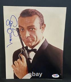 Sean Connery Autographed 8x10 Photograph JAMES BOND 007 PSA DNA