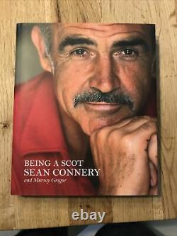 Sean Connery Being A Scot Signed 1st Edition Hardback James Bond 007 Autograph