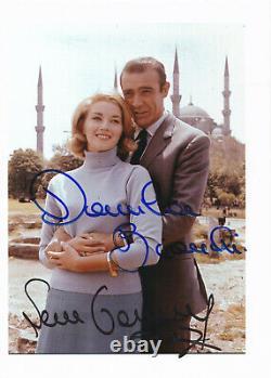 Sean Connery Daniela Bianchi James Bond 007 Autographe Autograph COA