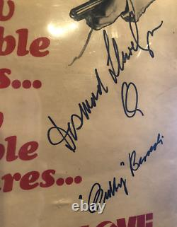 Sean Connery/Desmond Llewelyn/Broccoli Signed Russia With Love James Bond Poster