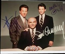 Sean Connery Dustin Hoffman Matthew broderick Family Business Signed Autograph