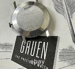 Sean Connery Gruen James Bond vintage watch to repair 1950s famous 3-6-9-12 dial