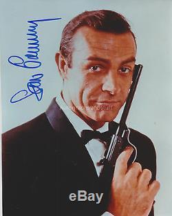 Sean Connery HAND Signed 8x10 Photo, Autograph, James Bond, Goldfinger, 007