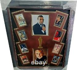 Sean Connery Hand Signed Autographed 8x10 Framed With More Photos James Bond PSA