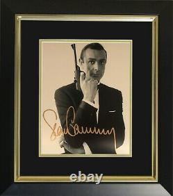 Sean Connery Hand Signed Photo Display Complete with COA