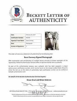 Sean Connery James Bond 007 Authentic Signed 8x10 Photo Autographed BAS #A02031