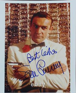 Sean Connery James Bond 007 Authentic Signed 8x10 Photo Autographed BAS #A15573