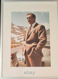 Sean Connery James Bond 007 Motiv In den Bergen aus Goldfinger Foto