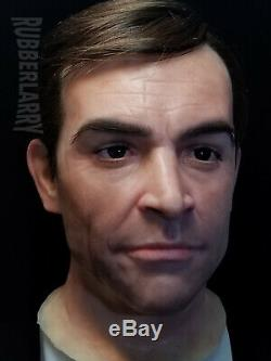 Sean Connery James Bond 11 Life Size Silicone Bust 007
