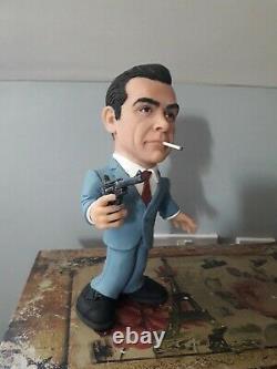 Sean Connery James Bond Dr No rare figure statue quality piece! Figurine