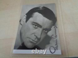 Sean Connery James Bond Feuerball Karte mit org Autogramm von 1965