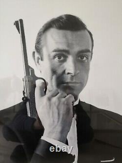 Sean Connery James Bond Framed Print. 007