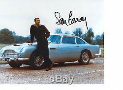 Sean Connery James Bond Genuine Autograph UACC / AFTAL