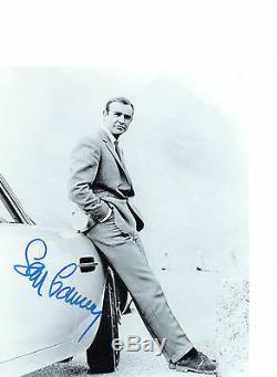 Sean Connery James Bond Genuine signed authentic autograph UACC / AFTAL