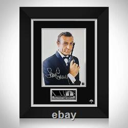 Sean Connery James Bond Limited Edition Photo Signature Custom Frame