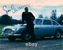 Sean Connery James Bond autographed 8x10 signed Photo Picture with COA