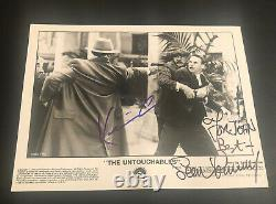Sean Connery & Kevin Costner signed UNTOUCHABLES photo autograph RARE vintage