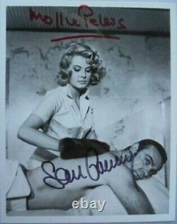 Sean Connery (+) & Mollie Peters orig. Autogramm James Bond 007 13x18 YOLT