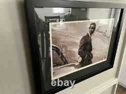 Sean Connery & Roger Moore Signed James Bond 007 Autographs Framed Prints COA