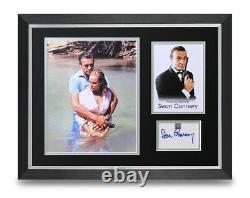 Sean Connery Signed 16x12 Framed Photo Display James Bond Autograph Memorabilia