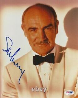 Sean Connery Signed 8x10 Photo PSA DNA GEM MT 10 Certified Authentic Autograph