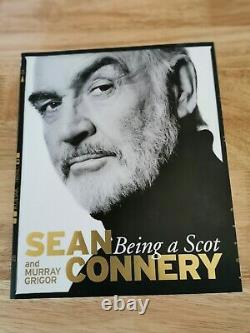 Sean Connery Signed Being A Scot First Edition New Unread