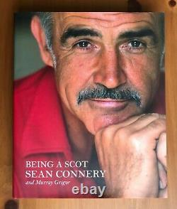 Sean Connery Signed Being A Scot Hardback Book 1st Unread Uacc & Aftal Rd