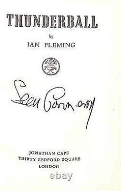Sean Connery (Signed!) Ian Fleming 14 Volume James Bond Set by Asprey London