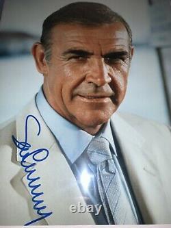 Sean Connery Signed James Bond 007 Photo Jsa Loa Full Letter Psa Bas Autographed