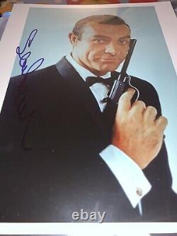 Sean Connery Signed James Bond 007 Photo Jsa Loa Full Letter Psa Bas With Proof