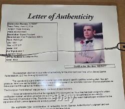 Sean Connery Signed James Bond Photo 007 11x14 Framed JSA psa bas Autograph