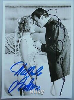 Sean Connery (+) & Ursula Andress orig. Autogramm James Bond 007 Motiv Dr. No