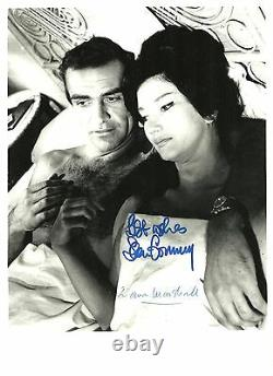 Sean Connery / Zena Marshall Autograph, Original Hand Signed Photo
