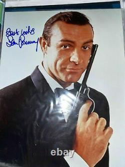 Sean Connery hand signed James Bond 007. AFTAL