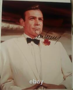 Sean Connery hand signed James Bond 007. COA
