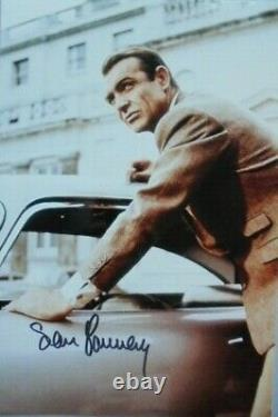 Sean Connery (+) orig. Autogramm James Bond 007 Motiv 20x30 Goldfinger
