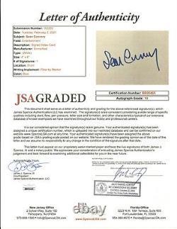 Sean Connery signed 4x6 Index Card JSA LOA AUTO GRADE 10 James Bond Rare Z586