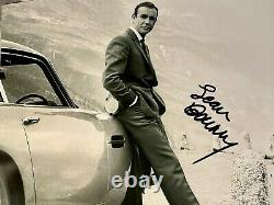 Sean Connery signed 8 X 10 photo as James Bond 007 signed in person withcoa