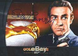 Sean Connery signed Goldfinger 8X10 photo Photo proof James Bond 007