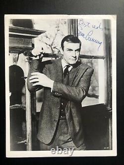 Sean Connery signed JAMES BOND 007 photo 8x10 autograph UACC vintage THUNDERBALL